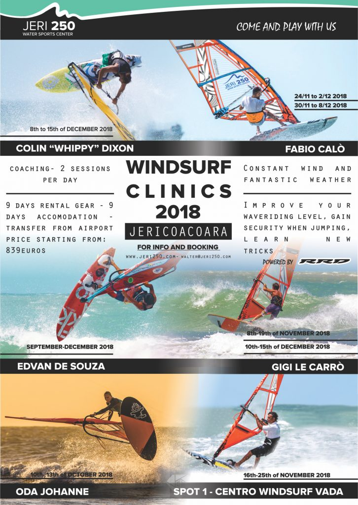 Windsurf Clinics 2018 Jeri250